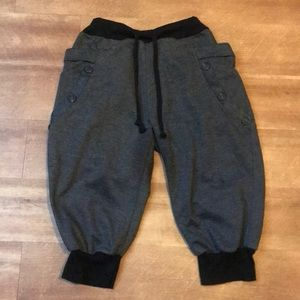 Pants - Drawstring Short Sweat Pants